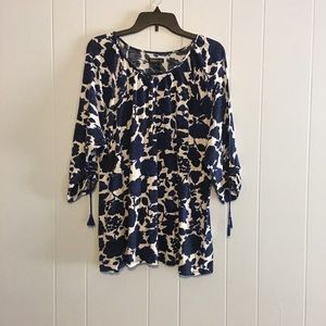 Lucky Brand plus size floral top